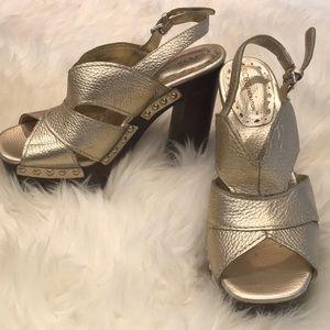 Gorgeous BCBG Platform Sandals
